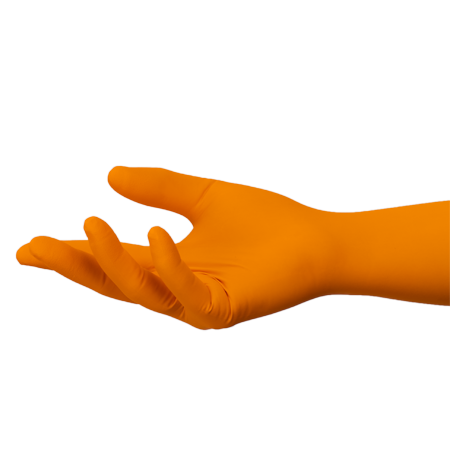 SHIELDskin™ ORANGE NITRILE™ 300 Sterile